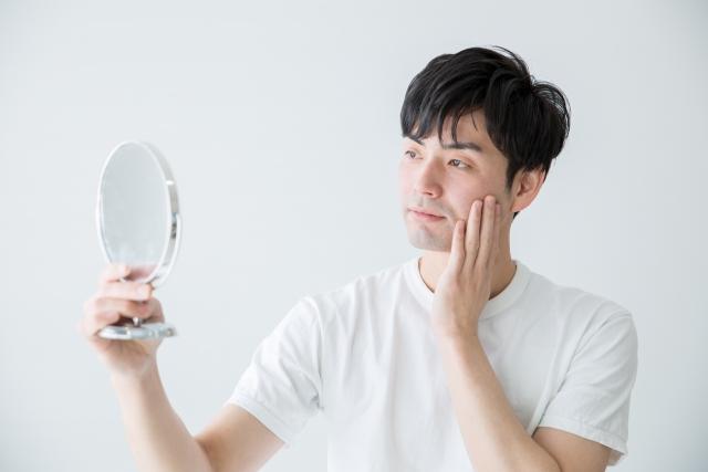 男性が抱える肌の悩み